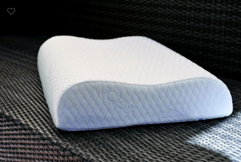 Oreiller à mémoire de forme qui permet de soulager les cervicales pendant les nombreuses heures passées au lit