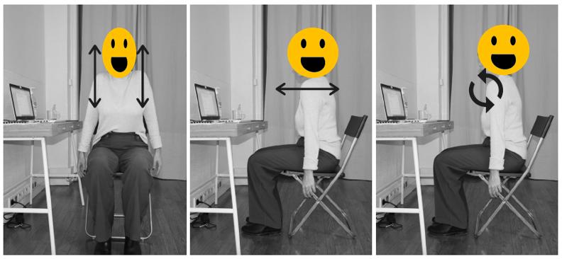Ces mouvements des épaules permettent d'étirer et de détendre la zone musculaire des cervicales